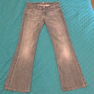 7 for all Mankind Bootcut Jeans Size 25